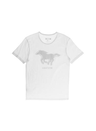 Mustang Tişört Beyaz